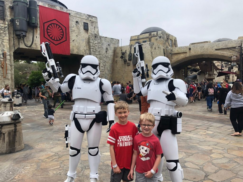 disneyland and california adventure rides Storm Troopers