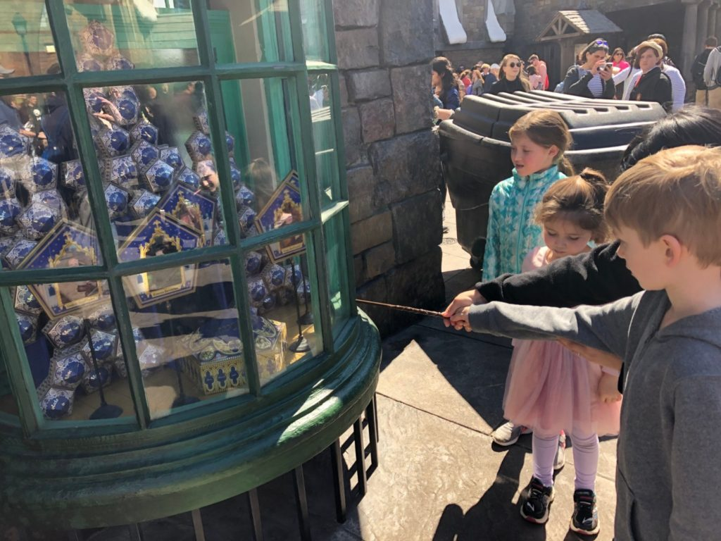 Universal Orlando with Toddlers Wand