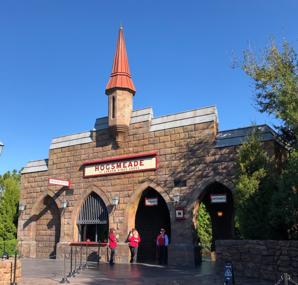 Universal Orlando with Toddlers Hogwarts Express