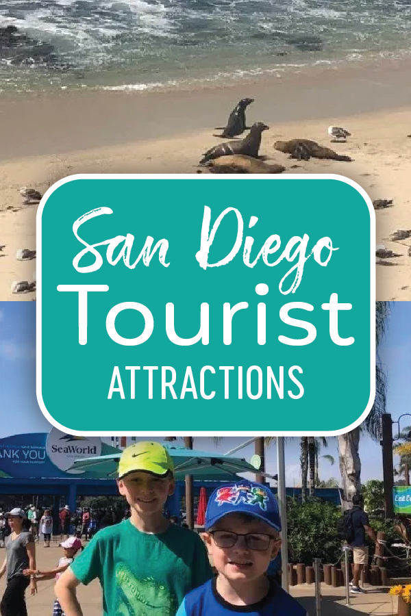 San Diego Tourist Attractions Pin