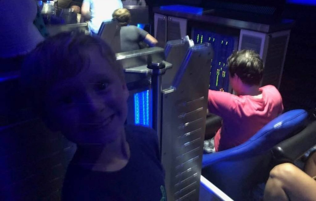 what are the scary rides at disney world space mountain cars