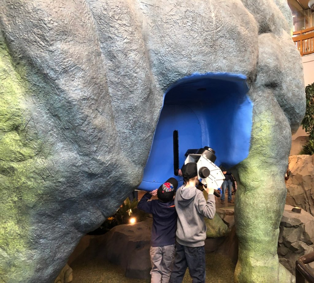 Universal Orlando with Toddlers Microscope