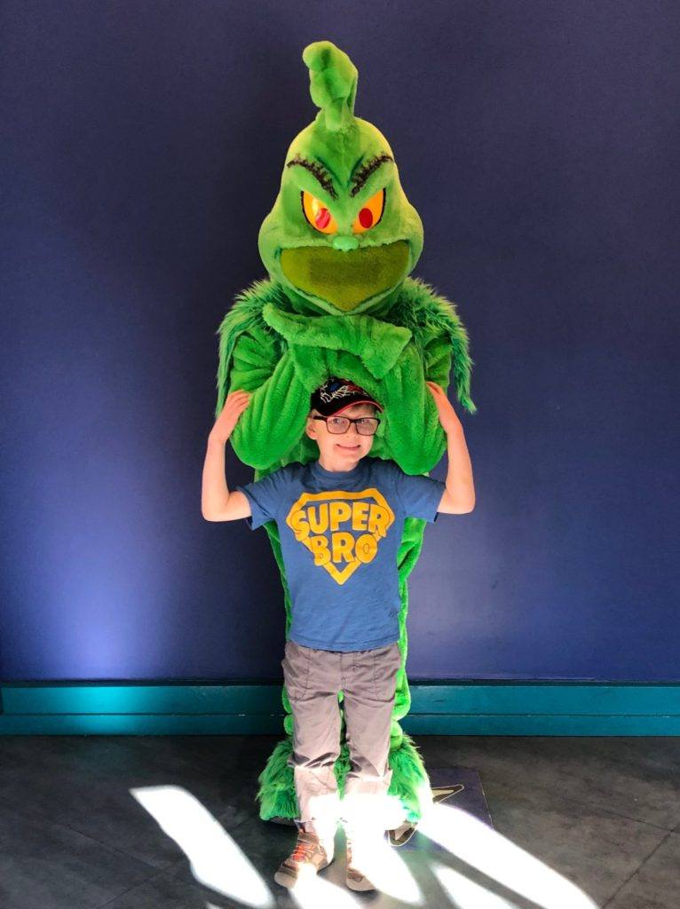 Universal Orlando with Toddlers Grinch