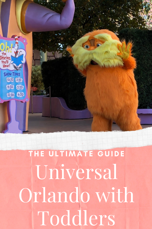Universal Orlando with Toddlers Pin