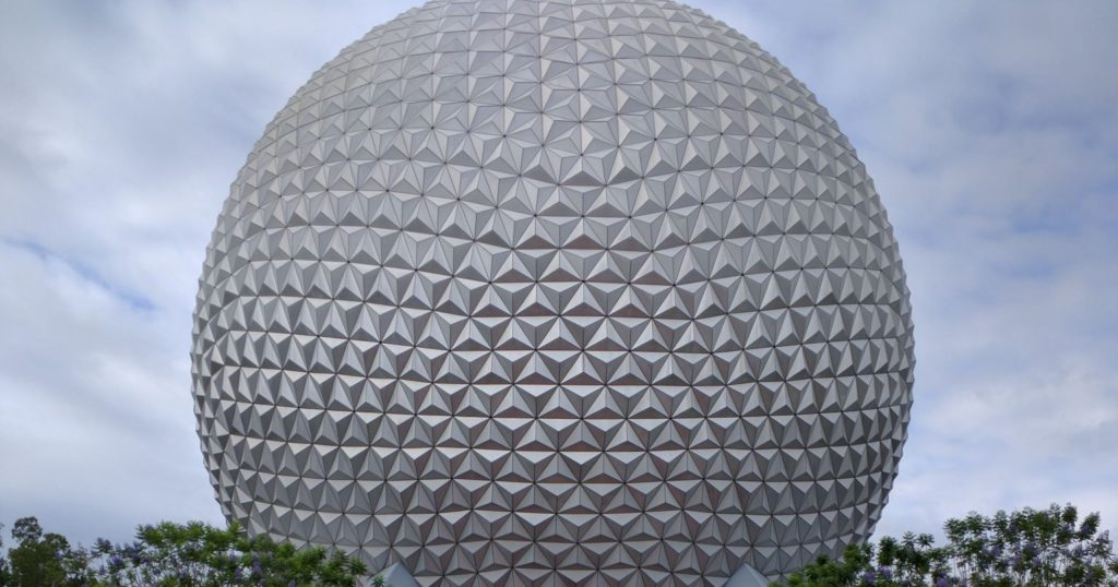 what characters are at epcot globe
