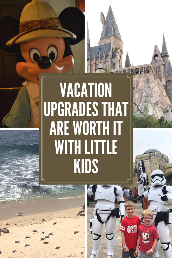 Vacation Upgrades That Are Worth It Pin