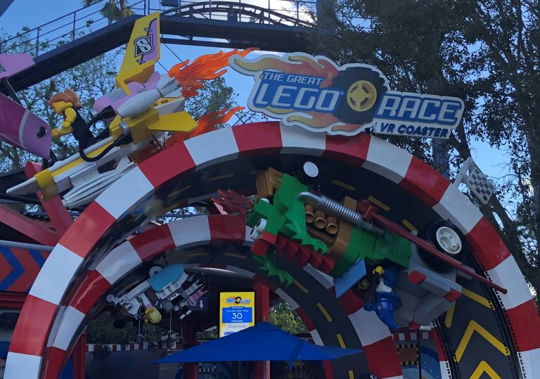 what to know before going to LEGOLAND Florida? LEGO Race