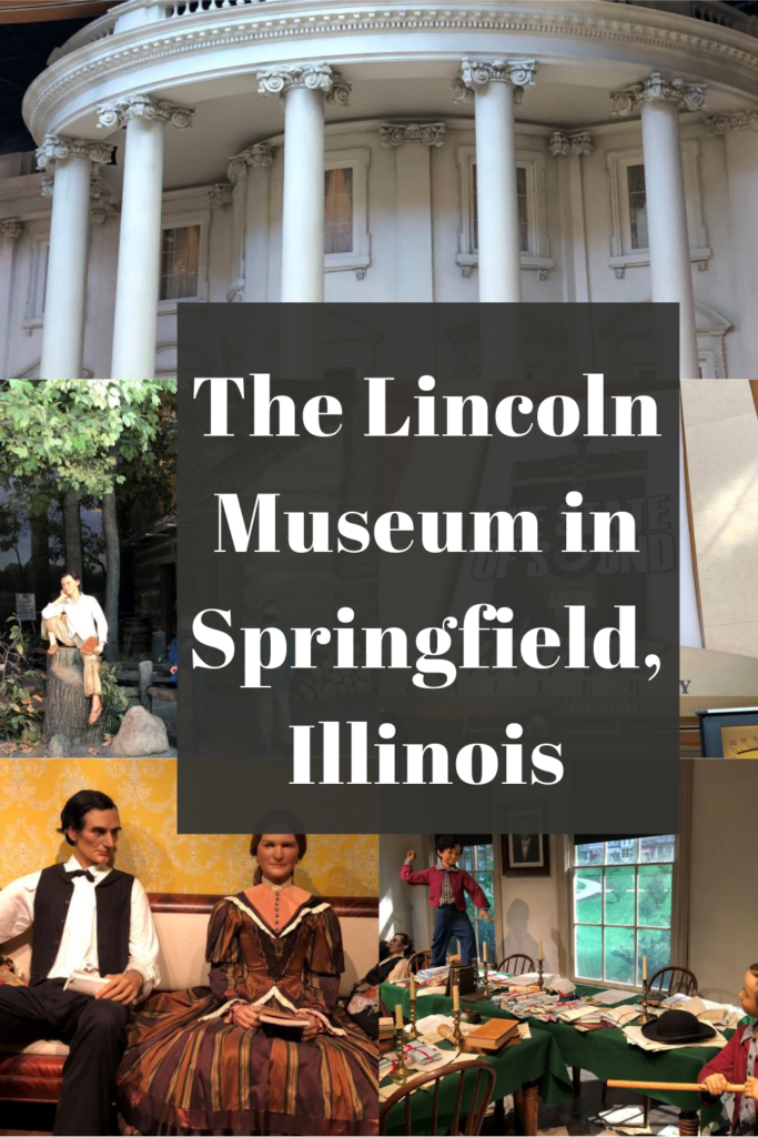 The Lincoln Museum in Springfield Illinois Pin