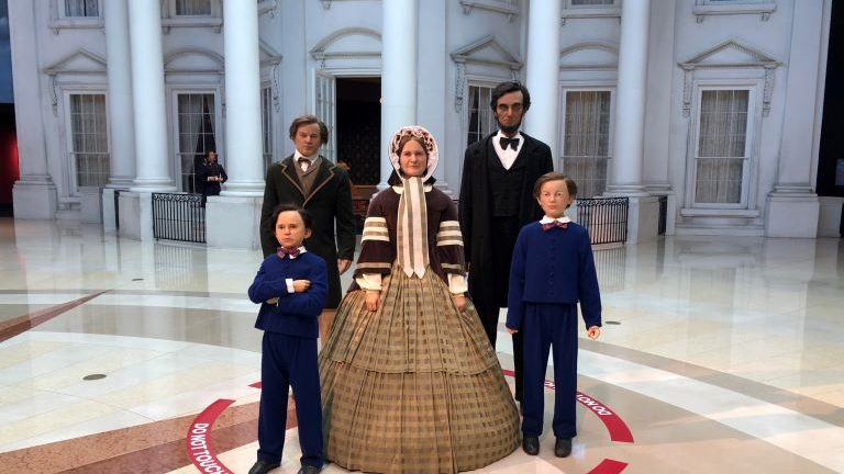The Lincoln Museum in Springfield Illinois: Wax Figures Abound