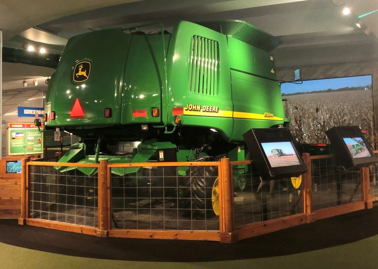 museum of science and industry how long tractor