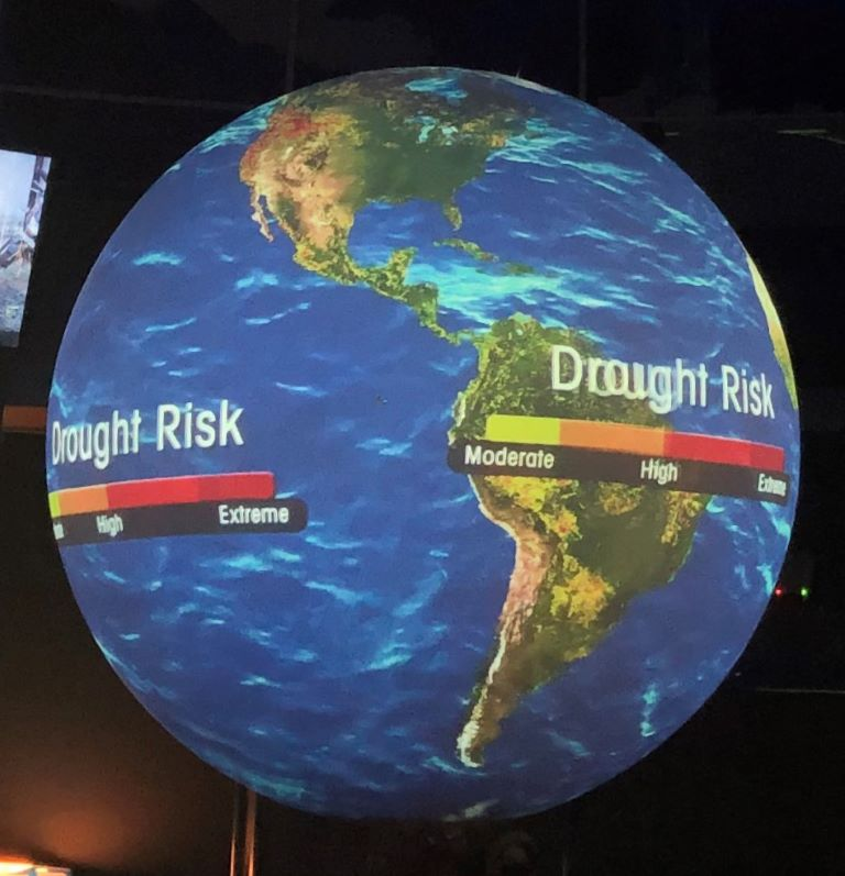 museum of science + industry (msi) chicago earth