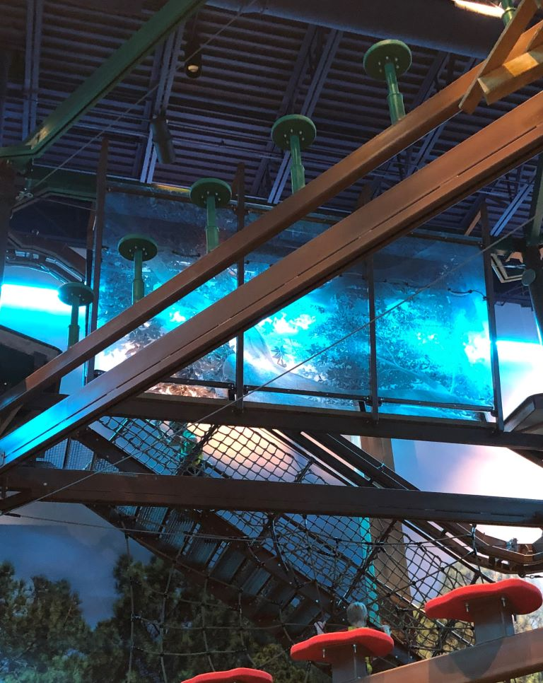 great wolf lodge gurnee activities ropes course