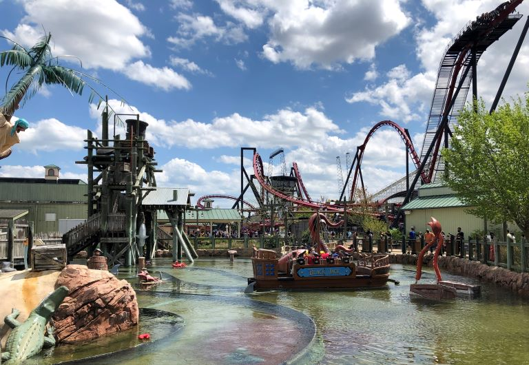 Six Flags Great America images Buccaneer Battle