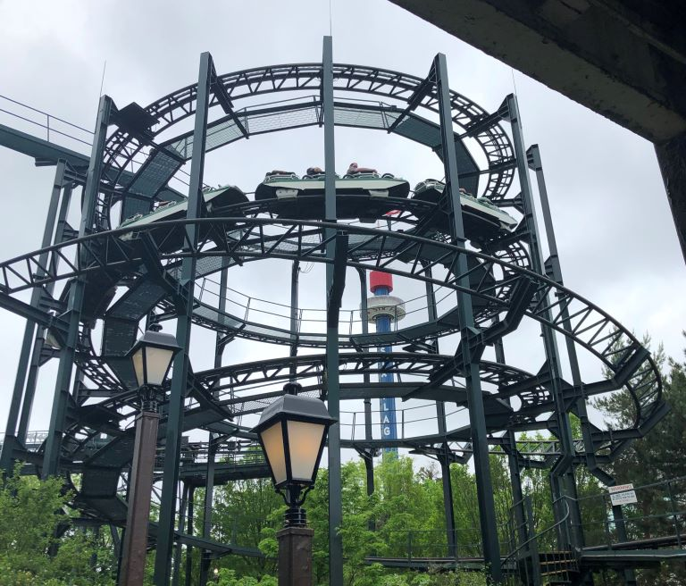 Six Flags Great America pictures Whizzer